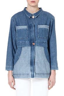MIH JEANS The Painter's Parka denim jacket