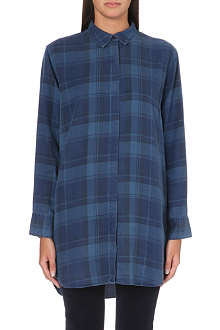 MIH JEANS Oversized checked shirt