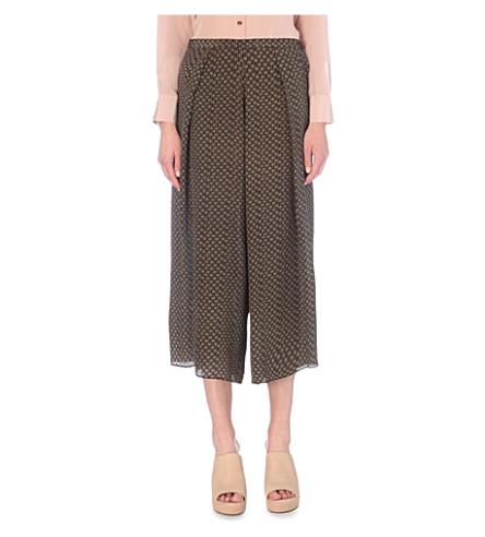 MIH JEANS Wide-leg silk trousers (Dandelion