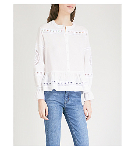 MIH JEANS Romney cotton shirt (White