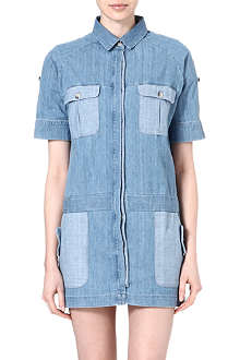 MIH JEANS Denim shirt dress