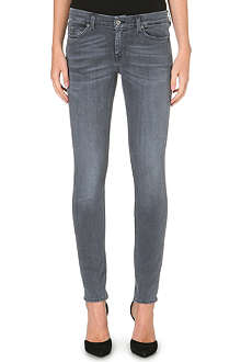 MIH JEANS The Breathless skinny mid-rise jeans
