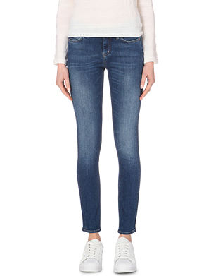 MIH JEANS Breathless skinny mid-rise jeans