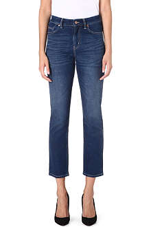 MIH JEANS Halsy straight-leg high-rise jeans