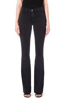 MIH JEANS Marrakesh kick-flared skinny jeans