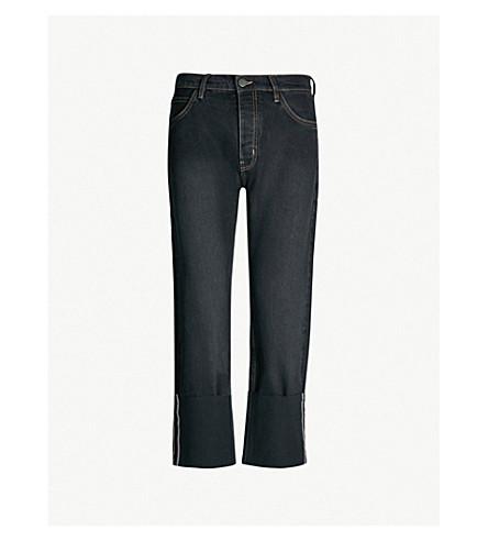 MIH JEANS Phoebe boyfriend high-rise jeans (Cam