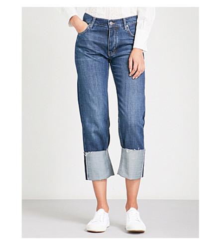 MIH JEANS Phoebe boyfriend high-rise jeans (Yoshida