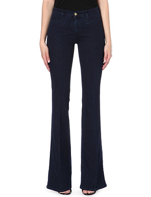 MIH JEANS Marrakesh flared skinny mid-rise jeans