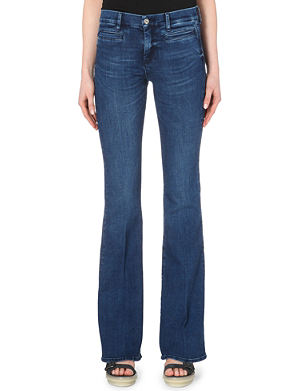 MIH JEANS Marrakesh flared high-rise jeans