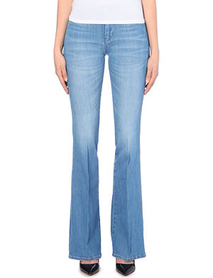 MIH JEANS Marrakesh flare high-rise jeans