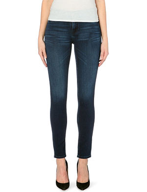 MIH JEANS The Bonn super-skinny high-rise jeans