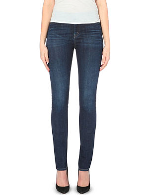 MIH JEANS Nouvelle cigarette high-rise jeans