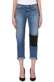 MIH JEANS Phoebe slim-fit boyfriend mid-rise jeans jeans