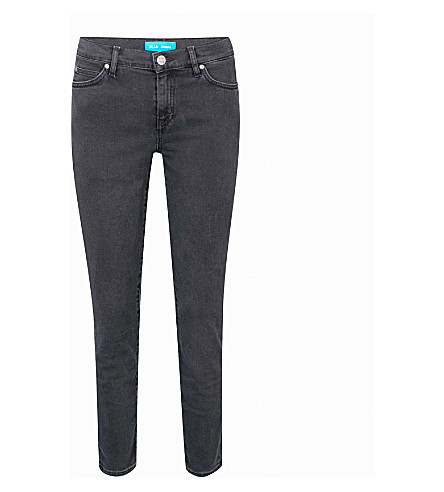 MIH JEANS Tomboy skinny mid-rise jeans (Cole