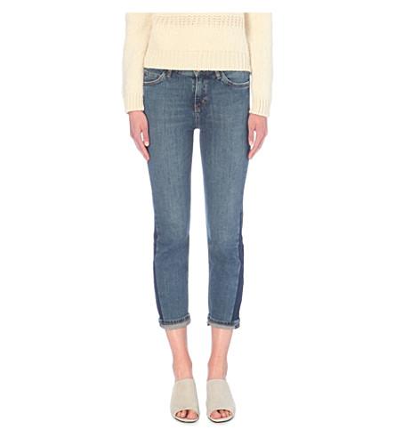 MIH JEANS Tomboy boyfriend slouch-rise jeans (Farrah