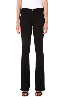MIH JEANS The Bodycon high-rise flared jeans