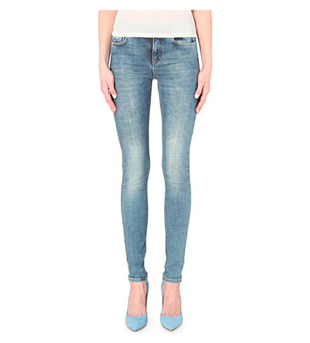 MIH JEANS The Bodycon skinny high-rise jeans (Mesa