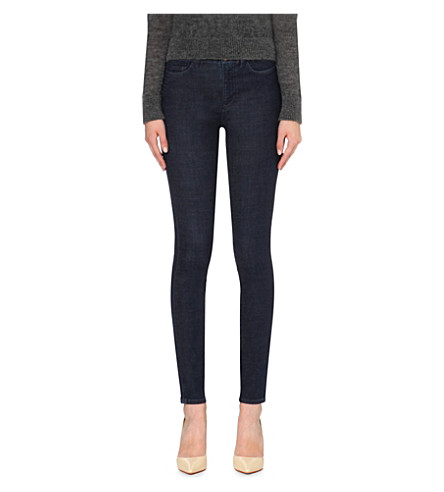 MIH JEANS The Bodycon skinny high-rise jeans (Rinse+power