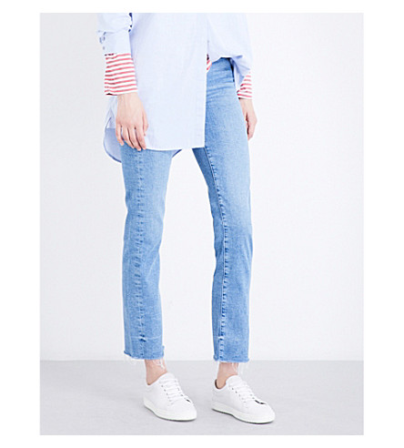 MIH JEANS Daily slim-fit high-rise jeans (Andy+ady