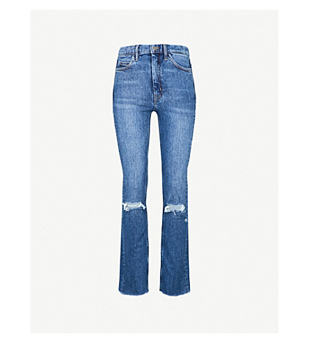 MIH JEANS Daily slim-fit high-rise jeans (Decker