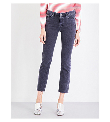 MIH JEANS Daily slim-fit high-rise jeans (Tigg