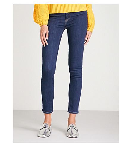 MIH JEANS Bridge skinny high-rise jeans (Rinse
