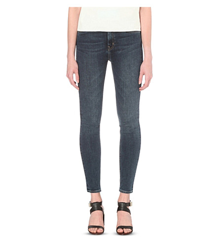 MIH JEANS Bridge skinny high-rise jeans (Beck