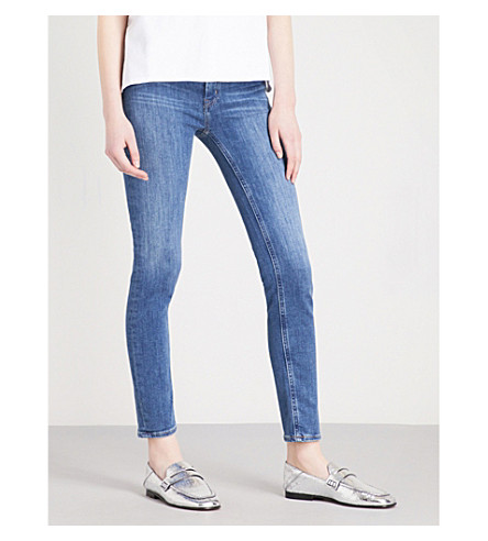 MIH JEANS Bridge skinny high-rise jeans (Bee