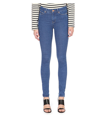 MIH JEANS Bodycon skinny high-rise jeans (Palo