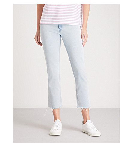 MIH JEANS Niki skinny cropped high-rise jeans (Ball