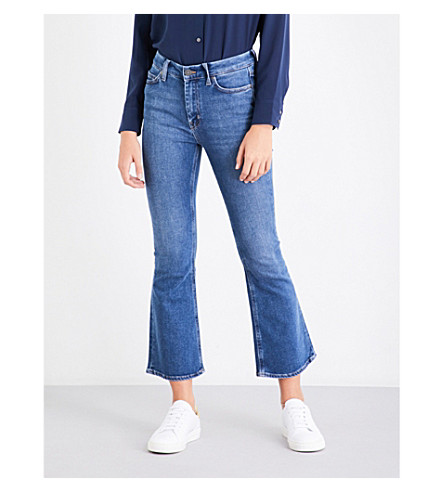 MIH JEANS Marty flared high-rise jeans (Ally+aly