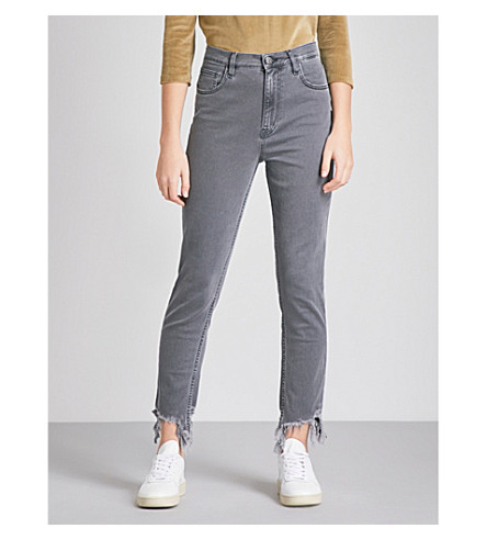 MIH JEANS Mimi slim high-rise jeans (Convert