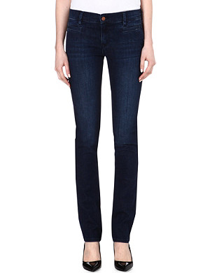 MIH JEANS Oslo slim mid-rise jeans