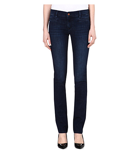 MIH JEANS Oslo slim mid-rise jeans (Bond