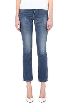 MIH JEANS The Halsy straight-leg high-rise jeans
