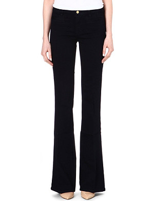 MIH JEANS Marrakesh flared skinny high-rise jeans