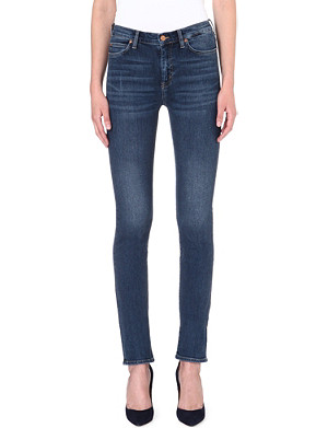 MIH JEANS The Nouvelle high-rise pencil jeans