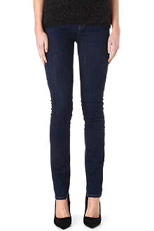 MIH JEANS The Nouvelle straight-leg high-rise jeans