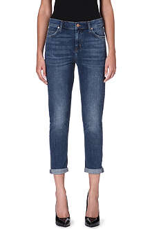 MIH JEANS The Tomboy high-rise boyfriend jeans