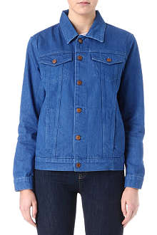 MIH JEANS Boyfriend denim jacket