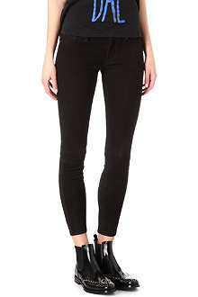 HUDSON JEANS Krista suede skinny trousers
