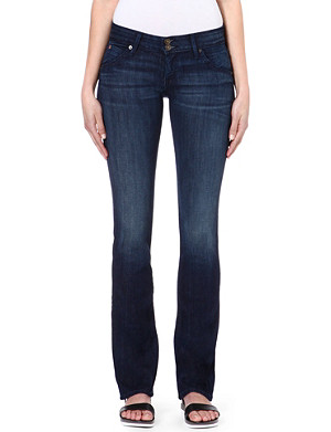 HUDSON JEANS Beth Baby bootcut mid-rise jeans