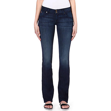 HUDSON JEANS Beth Baby bootcut mid-rise jeans (Siouxie