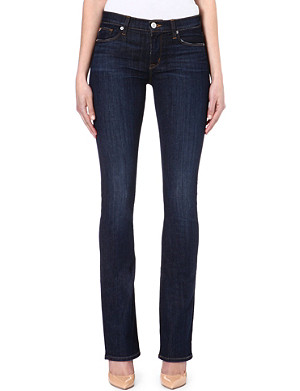 HUDSON JEANS Elle Baby bootcut mid-rise jeans