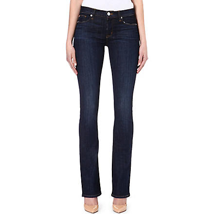 HUDSON JEANS Elle Baby bootcut mid-rise jeans (Abbey