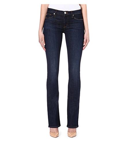 HUDSON JEANS Elle Baby bootcut mid-rise jeans (Abbey