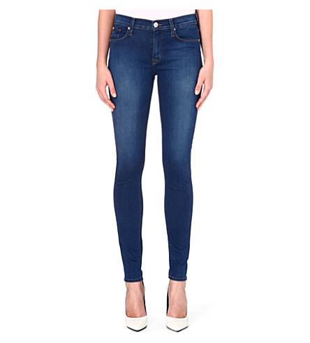 HUDSON JEANS Nico stretch-denim skinny jeans (Woodstock