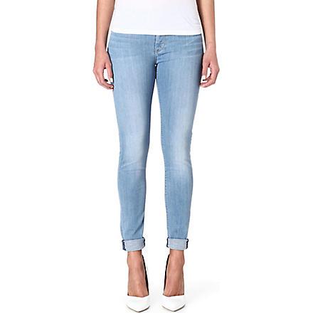 HUDSON JEANS Nico super-skinny jeans (Footprints