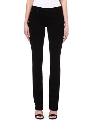 HUDSON JEANS Tilda straight mid-rise jeans
