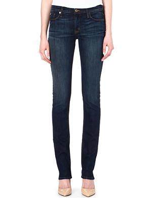 HUDSON JEANS Tilda straight-leg mid-rise jeans
